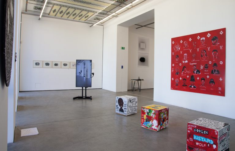 Images of the Data Loam Exhibition